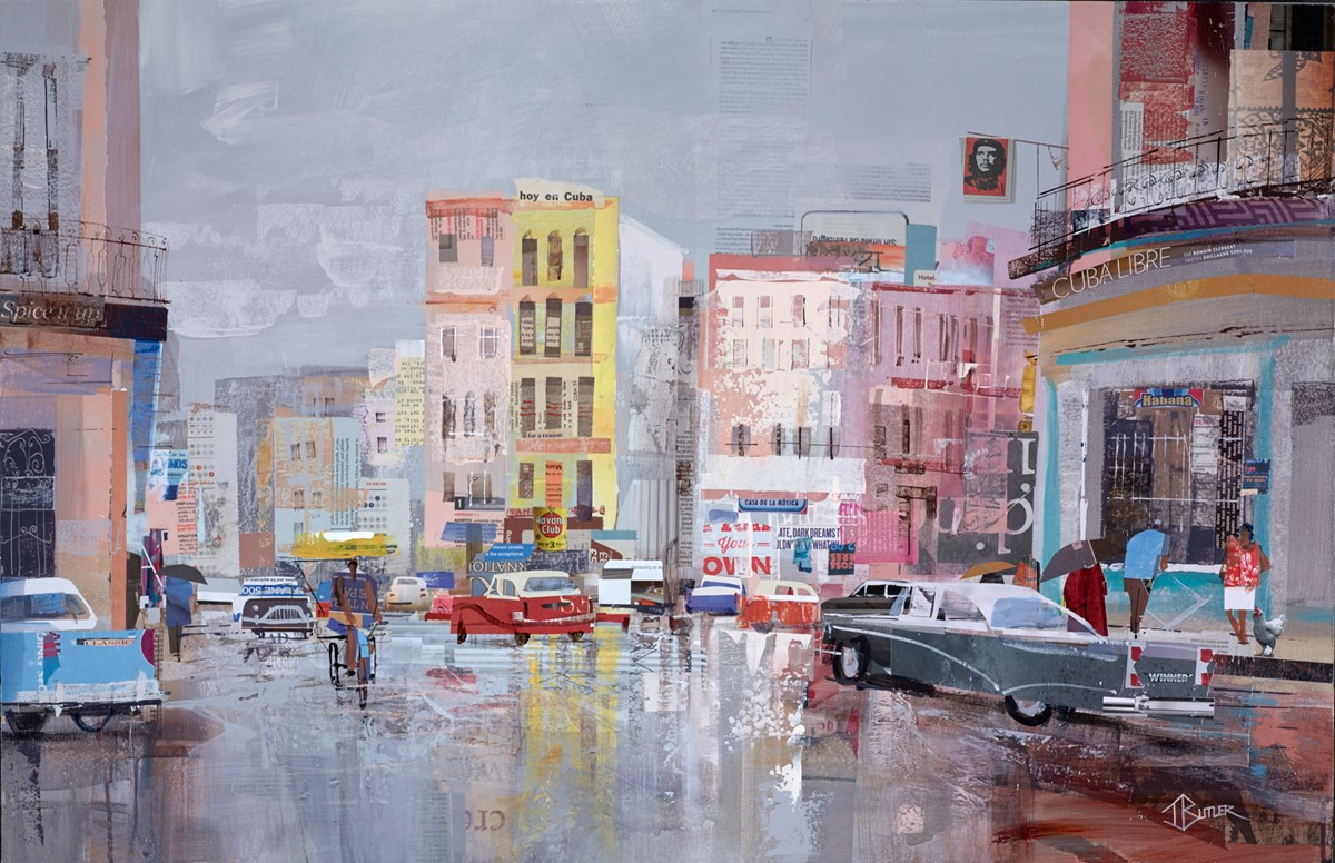 Latin Spirit, Havana II by tom butler -  sized 40x26 inches. Available from Whitewall Galleries